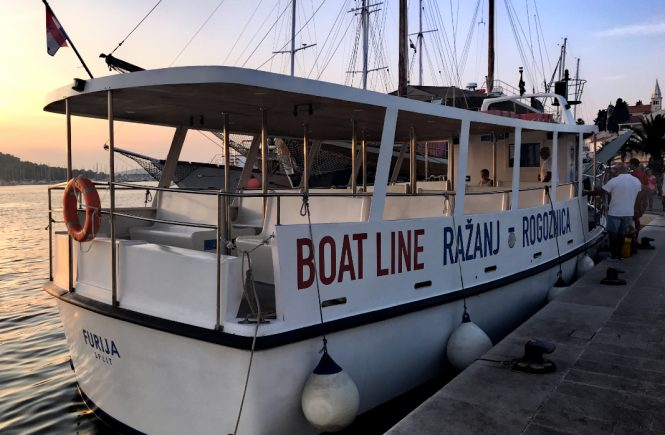 Bootslinie Ražanj Rogoznica