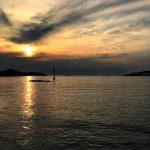 Das adriatische Meer