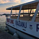 Bootslinie Ražanj Rogoznica - Ankunft Rogoznica