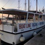 Taxiboat der Bootslinie Razanj - Rogoznica - Razanj